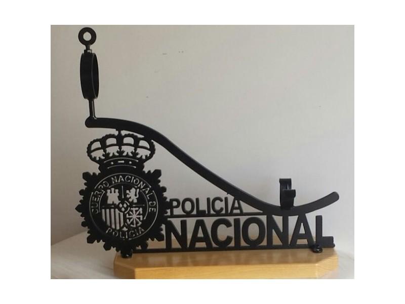 Jamonero de Forja Policía Nacional