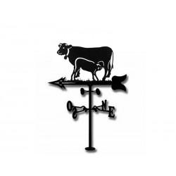 Veleta de Viento Vaca y Ternero