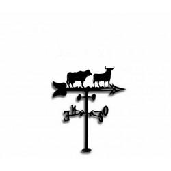 Veleta de Viento Vaca y Toro