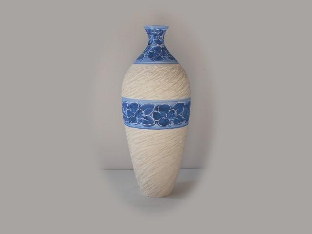 Jarrones de cer mica en color azul cobalto cer mica - Colores de ceramica ...
