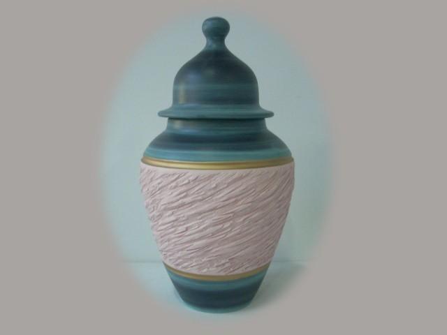 Jarrones y floreros de cer mica artesanal color rosa - Colores de ceramica ...