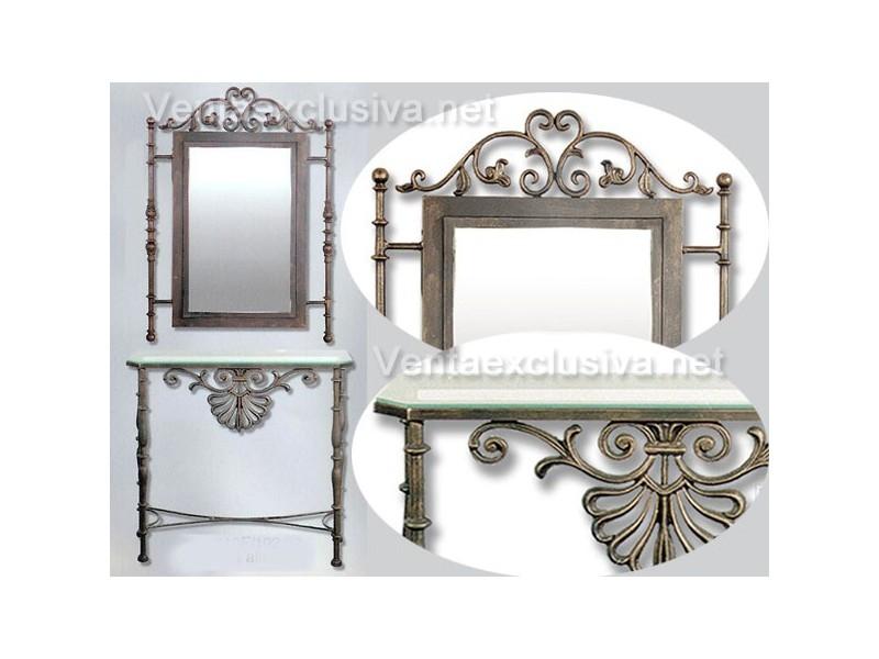 Muebles recibidor baratos muebles de saln recibidor con for Milanuncios muebles vintage