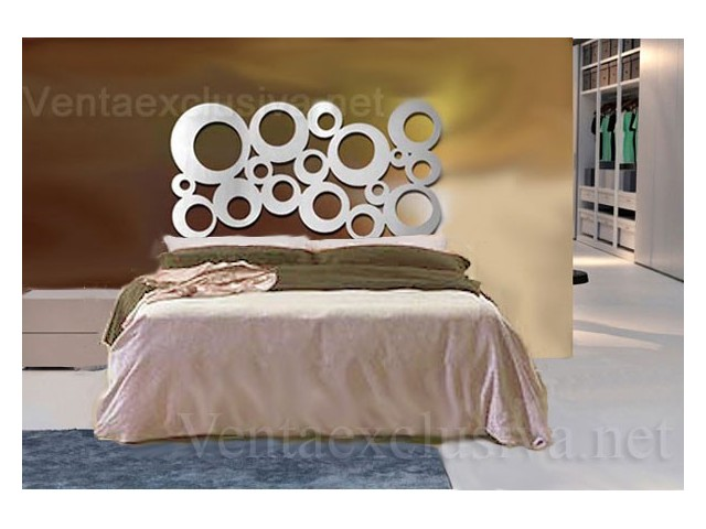 Cabeceros de forja estilo retro color plata cabezales cama plateados - Cabeceros forja ...