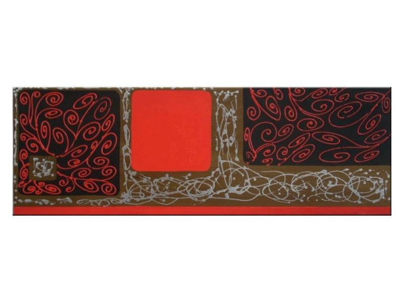 Cuadro cabecero en rojo