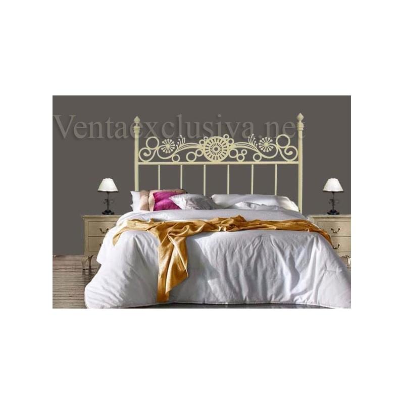 Cabeceros de forja para camas de 105 baratos cabezales 105cm - Cabeceros cama de forja ...