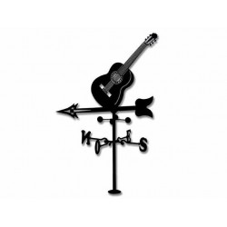 Veleta de Viento Guitarra