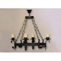 Lámpara de forja-0507