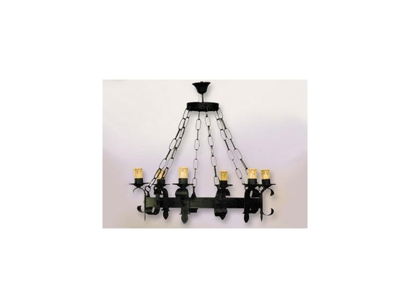 Lámpara de forja-0508