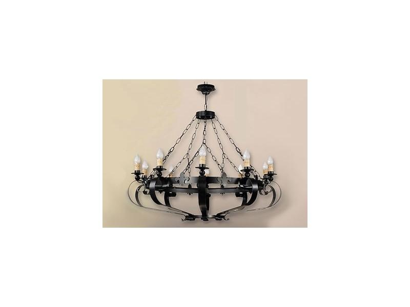 Lámpara de forja-0527-10