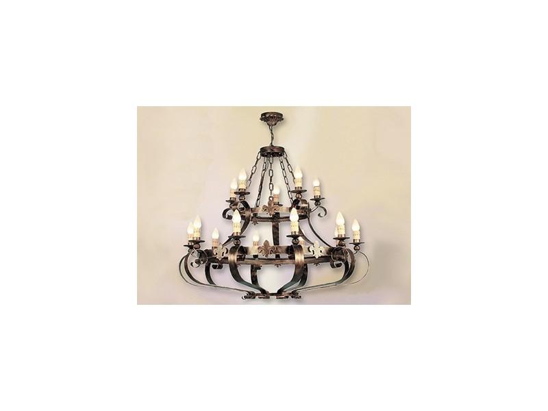 Lámpara de forja-0527-15