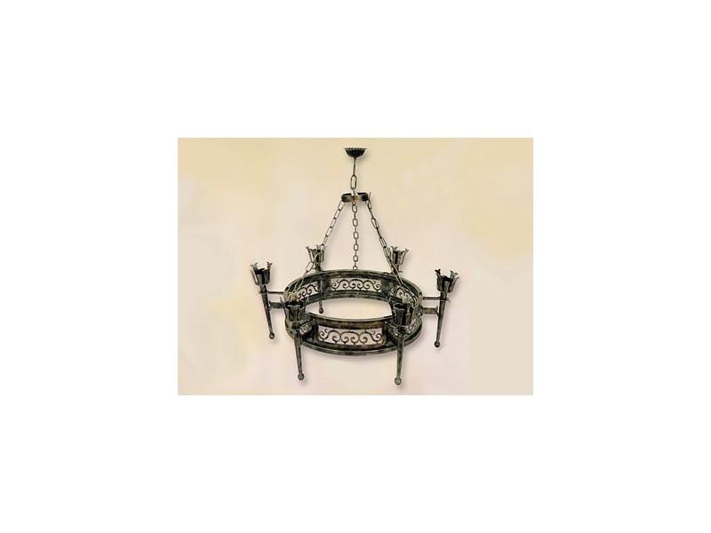 Lámpara de forja-0597-6
