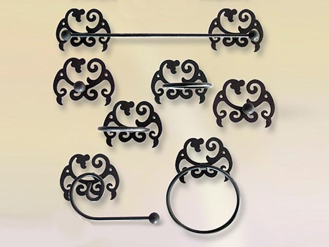 Accesorios de ba o en forja baratos y originales for Accesorios cuarto de bano baratos