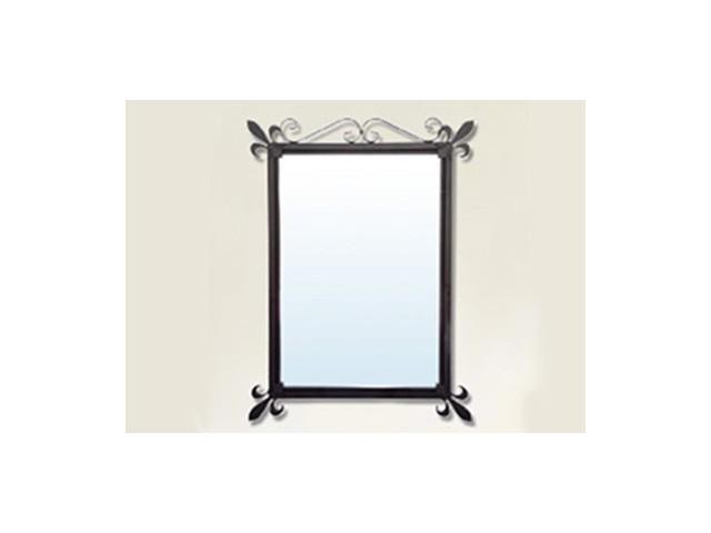 Espejos de ba o originales de hierro forjado for Espejos originales para bano