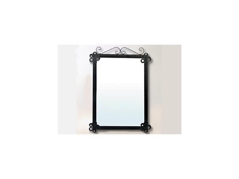 Espejo de ba o barato de forja artesanal for Portarrollos bano baratos