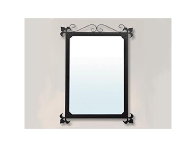 Espejo de ba o barato original en hierro forjado for Portarrollos bano baratos