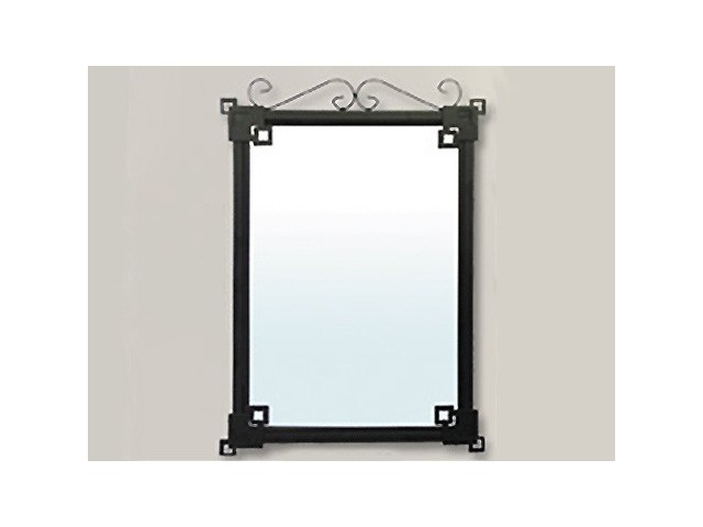 Comprar espejo de ba o barato original de forja for Complementos bano baratos