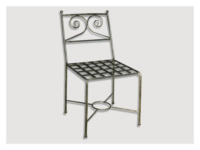 Sillas artesanales de forja sillas de hierro forjado - Sillas de forja para comedor ...