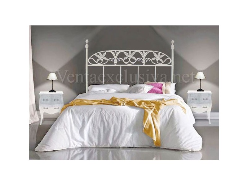 Comprar camas blancas de forja baratas camas blancas forja - Camas de forja blancas ...