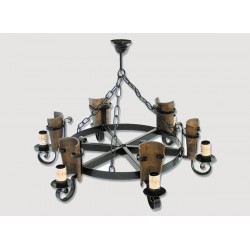 Lámpara Rustica de Forja-05553
