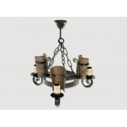 Lámpara Rustica de Forja-05564