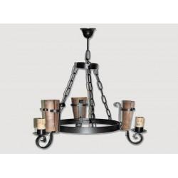 Lámpara Rustica de Forja-0555