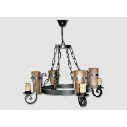 Lámpara Rustica de Forja-0556-7