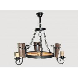 Lámpara Rustica de Forja-0550