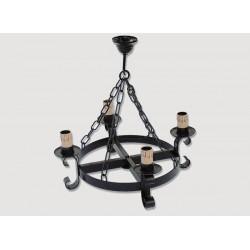 Lámpara Rustica de Forja-05517