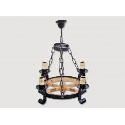 Lámpara Rustica de Forja-0517-21