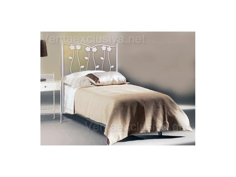 Camas matrimonio blancas de forja baratas cabeceros blancos - Ideas para cabezales de cama ...