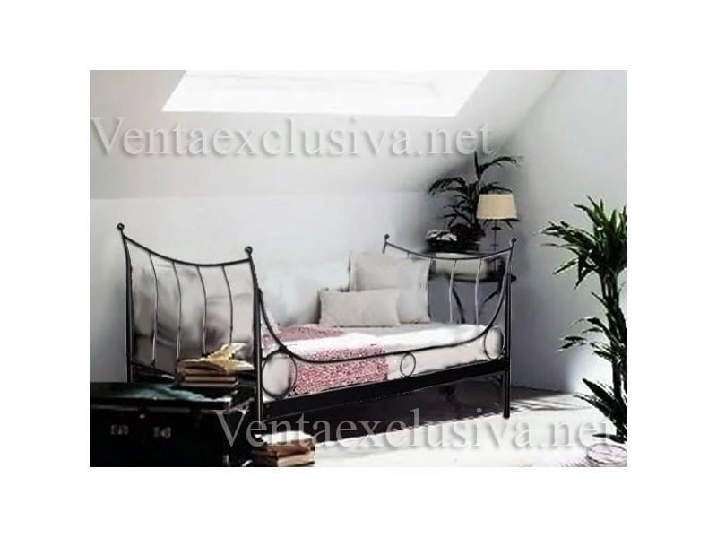 Sof cama de forja barato divan de forja economico Divanes de forja baratos