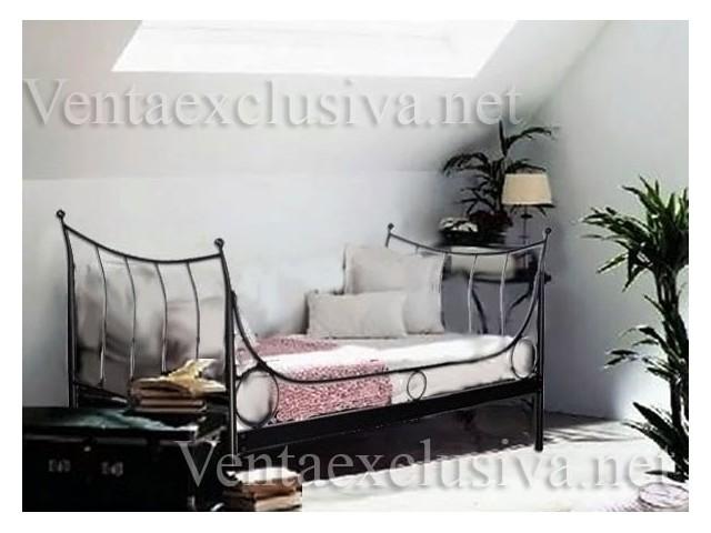 Sof cama de forja barato divan de forja economico for Sofa cama economico