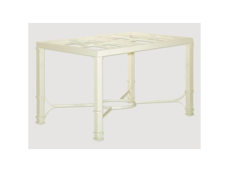 Mesas modernas de hierro rectas para salon mesas comedor for Mesas de salon modernas baratas