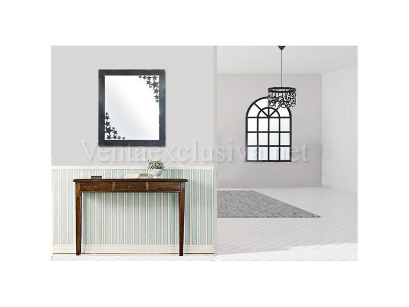 Espejos baratos de forja para entradas recibidores de forja for Espejos grandes baratos