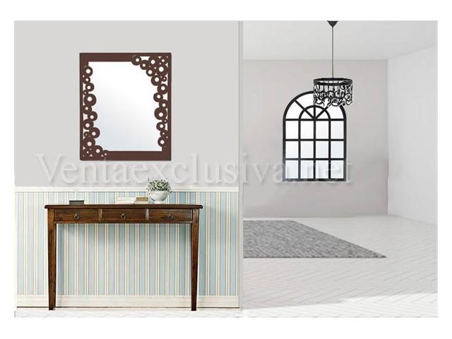 Espejos de forja originales estilo retro espejos vintage baratos - Espejos originales baratos ...