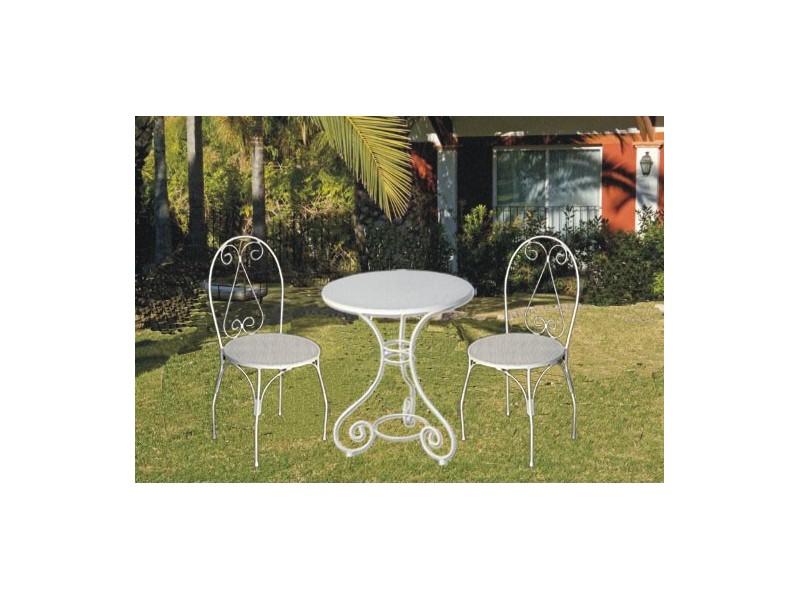 Mesas y sillas para terraza de hierro forjado sillas de for Sillas para terraza