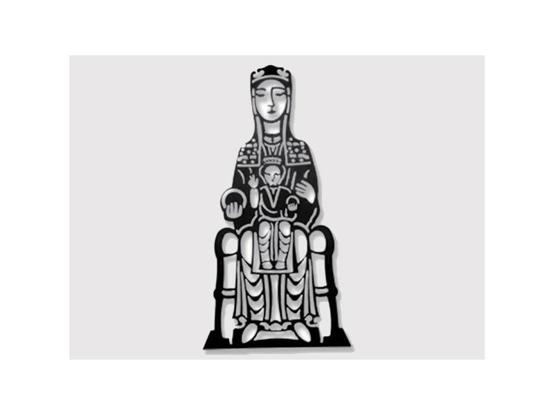 Figura Virgen de Monserrat