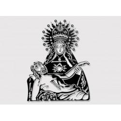 Figura Virgen con Cristo