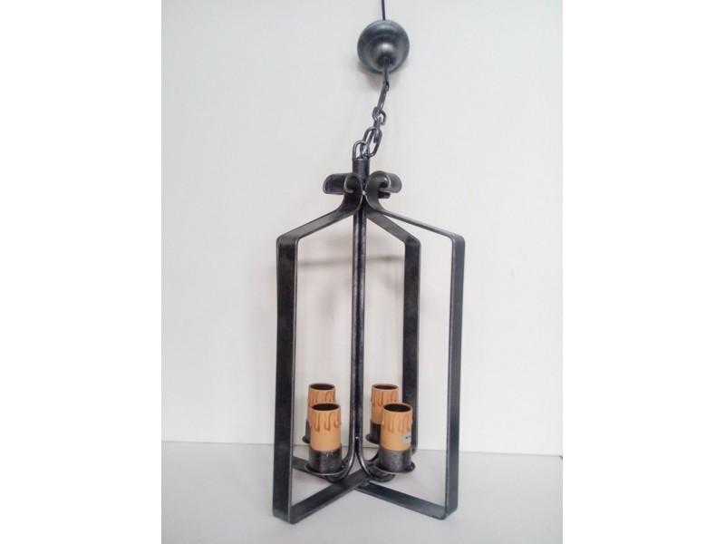 Lámpara Clasica de Forja-0573PN